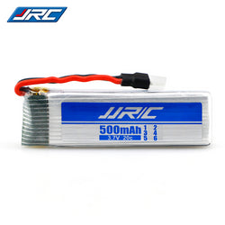 JJRC 3.7V 500mAh 20C Li-ion Battery with 51005 Connector, Battery, [product_tags] - SGM Drones