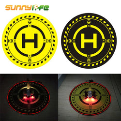 Universal Foldable Landing Pad w/Night Light for DJI Spark Mavic Pro Air Phantom 3 4 and Other Drones, Landing Pad, [product_tags] - SGM Drones