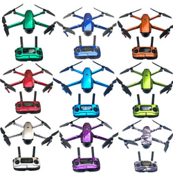 Decals Stickers for Mavic 2 Pro / Zoom Full Body, Transmitter and Battery - Design Collection 2 – Bright Shining Flourescents, Decal, [product_tags] - SGM Drones