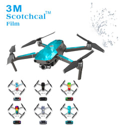 Waterproof UV Resistant PVC Skin Stickers Decal for DJI MAVIC 2 Pro Zoom Drone Quadacopter Cover Wrap Guard Sticker Decals, Decal, [product_tags] - SGM Drones
