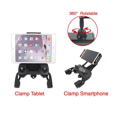 Affordable Tablet Bracket Mount Clip For DJI Spark / Mavic Remote Control, Adapter, [product_tags] - SGM Drones