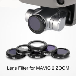 DJI Mavic 2 Zoom Lens Filter Version 2 - Black, Photo, [product_tags] - SGM Drones