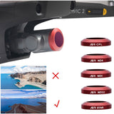 Lens Filter for DJI Mavic 2 Zoom - Dark Red, Photo, [product_tags] - SGM Drones