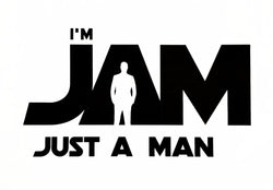 I'm JAM - Just A Man Logo