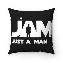 I'm JAM Spun Polyester Square Pillow