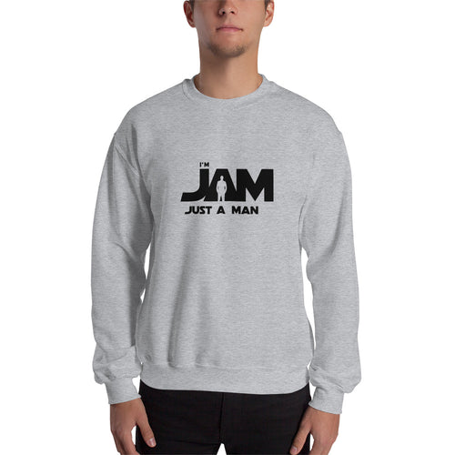 I'm JAM Sweatshirt - Black Letter Edition