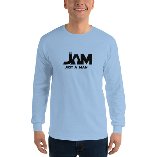 I'm JAM Long Sleeve T-Shirt - Black Letter Edition