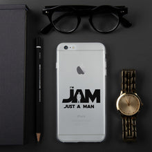 I'm JAM iPhone Case - Black Letter Edition