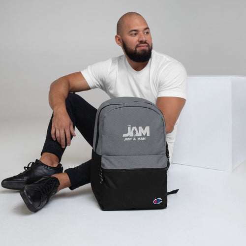 I'm JAM Embroidered Champion Backpack