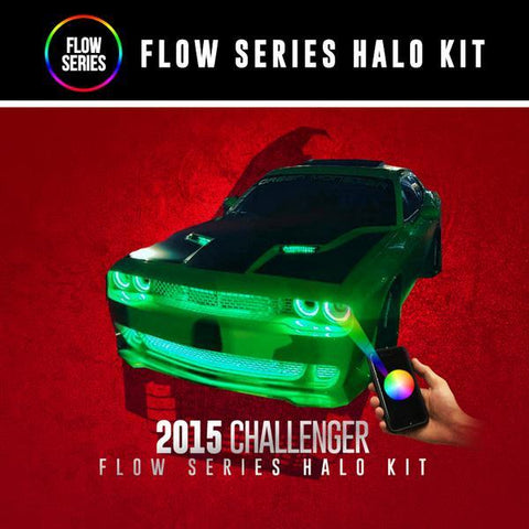 Lighting Trendz | Color Werkz 2015+ Dodge Challenger Flow Series Halo Kit
