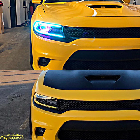 "Color Werks 2015+ Charger ""Yellow Fellow"" Headight Package"