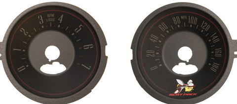 US Speedo Custom Gauge Face for 2015-2019  Dodge Challenger Scat Pack