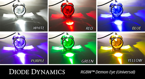 Diode Dynamics RGBW™ Demon Eyes (Universal)