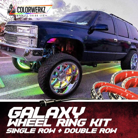 LIGHTING TRENDZ | COLOR WERKZ Galaxy Wheel Rings (Single Row or Double Row)