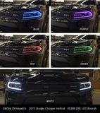 Diode Dynamics 2015-2017 Dodge Charger Multicolor DRL LED Boards