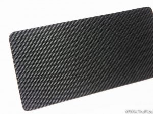 TruFiber Carbon Fiber LG 277 License Plate
