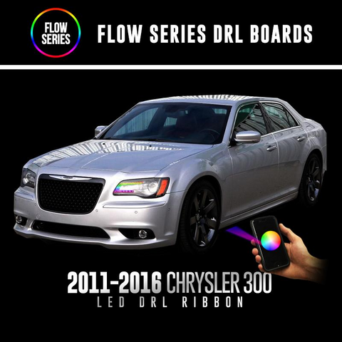Lighting Trendz | Color Werkz 2011-2018 Chrysler 300C Flow Series DRL Ribbons