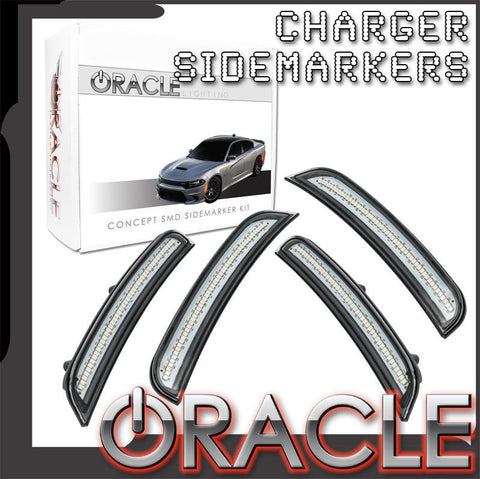2015-2018 Dodge Charger ORACLE Concept SMD Sidemarker Set