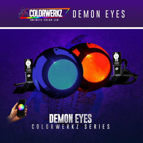Lighting Trendz RGB | RGBW Demon Eyes