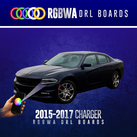 LIGHTING TRENDZ | COLOR WERKZ 2015-2018 DODGE CHARGER RGBW DRL BOARDS