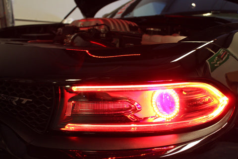 Colorwerkz 2015-2018 Dodge Charger RGBW Projector Halos