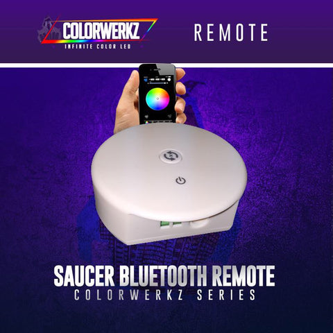 Colorwerkz Bluetooth LED Saucer Remote