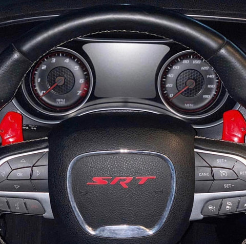 Custom Painted Hellcat Paddle Shifters