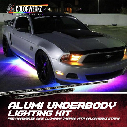 LIGHTING TRENDZ | COLOR WERKZ Alumi Underbody Lighting Kit