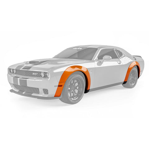 Vicrez Demon Wide Body Fender Flares vz101488 | Dodge Challenger 2008-2021