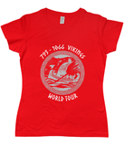 Vikings World Tour Ladies T-Shirt