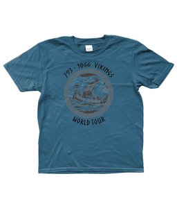 You added Kid's Viking wold Tour T-shirt to your cart.