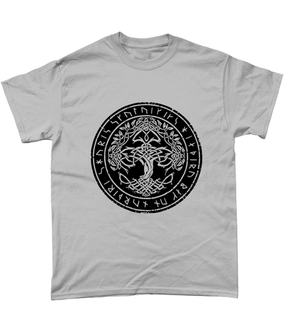 Tree of Life (Yggdrasill) Heavy Cotton T-Shirt