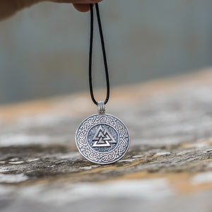 You added Sterling Silver Valknut Amulet with Knotwork to your cart.