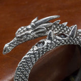 Jormungand serpent dragon bracelet bangle pewter UK