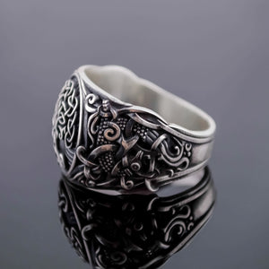 You added Sterling Silver Tree of Life Mammen Axe Ring to your cart.