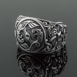 Sterling Silver Mammen Raven Ring