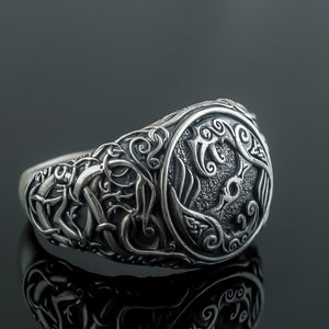 You added Sterling Silver Urnes Raven Ring to your cart.