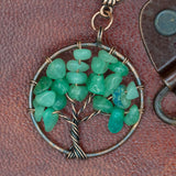 Yggdrasill (Tree of Life) Green Hair Pin