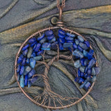 Large Yggdrasill (Tree of Life) on chain - Various Stones