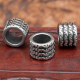 UK stainless steel hair and beard bead