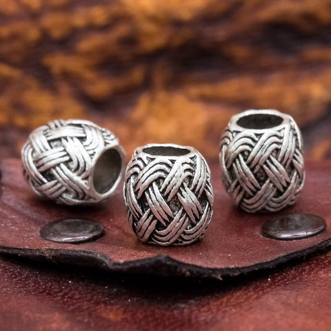 knot design norse viking hair bead