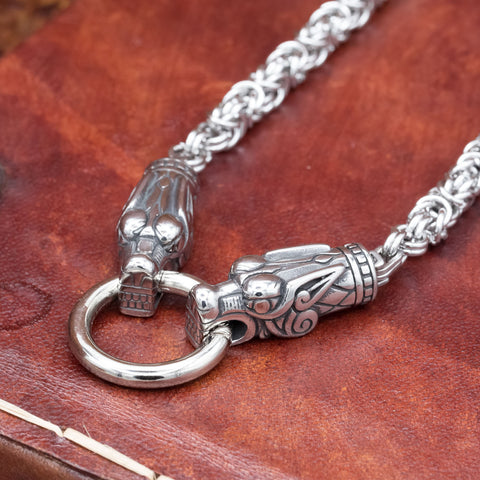 Wolf Stainless Steel Chain