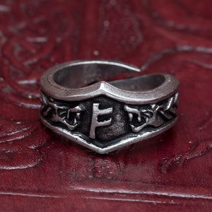 You added Fehu Asgard Pewter Rune Ring to your cart.