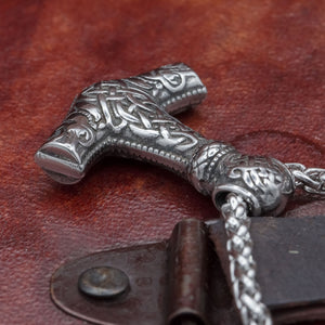 You added Stainless Steel Mjölnir on chain to your cart.
