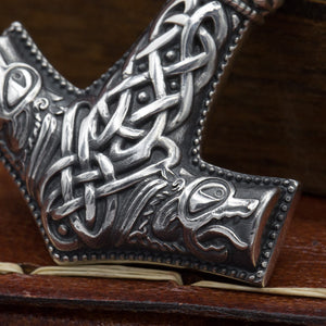 You added Heavy Sterling Silver Mjölnir (Thor's Hammer) to your cart.