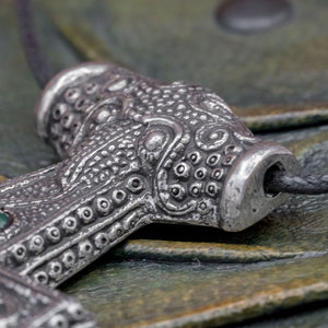 You added Sterling Silver Asgard Skane Thor's Hammer (Green) to your cart.