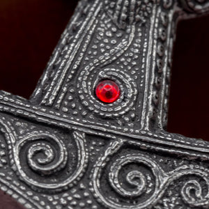 You added Sterling Silver Skane Asgard Thor's Hammer (Red) to your cart.