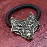 Brass Fenrir Hair Band / Hair Tie