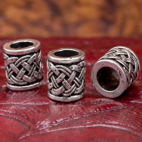 hair and beard celtic norse viking hair beard bead ring