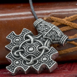 You added Sterling Silver Hiddensee Asgard Thor's Hammer to your cart.